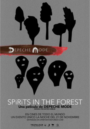 Concierto: Depeche Mode. Spirits in The Forest